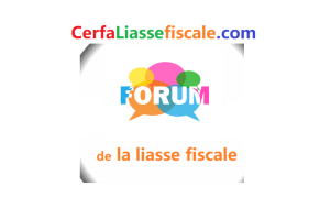 Forum liasses fiscales
