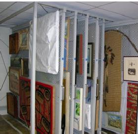 Storage racks for fine art & craft