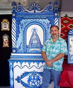 Artista Charles M. Carrillo recibió una subvención de ayuda de emergencia de CERF +