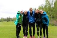 Kirsti, Sandra, Bjarne, Inger-Lise og Trude