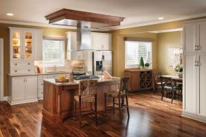 Hardwood in the kitchen