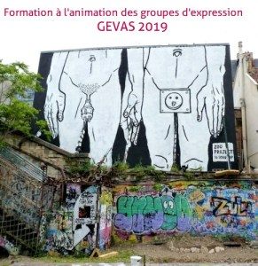 Formation animation Groupes d'expression 2nde partie @ Lyon