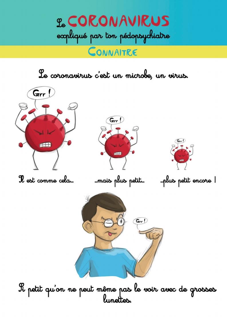 Le coronavirus expliqué par ton pédopsychiatre