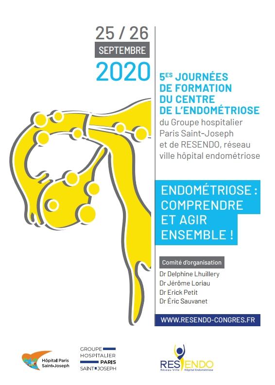 Endométriose : comprendre et agir ensemble ! 25 / 26 septembre 2020
