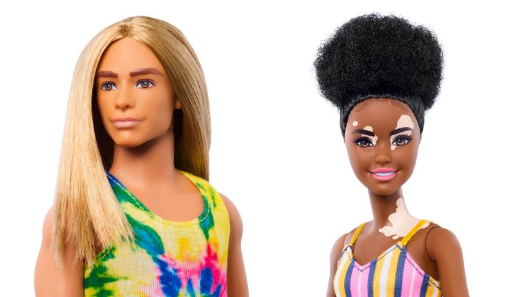 Vitiligo, handicap, poupées non genrées : Barbie célèbre la diversité avec sa nouvelle collection
