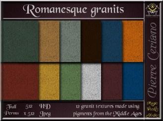 Romanesque granit SL Add
