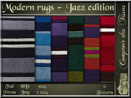 Modern rug - Jazz edition SL Add