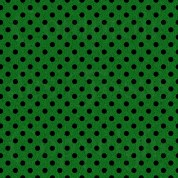 Woven black on green s