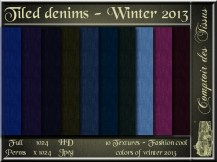 Denim - Colors of winter 2013 Cool SL Add