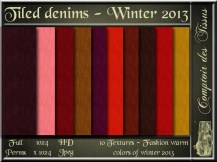 Denim - Colors of winter 2013 Warm SL Add