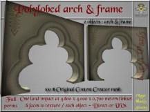 Polylobed arch & frame SL ad_001