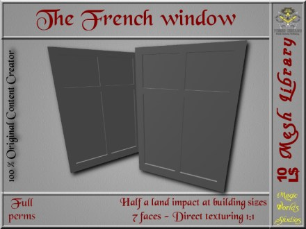 The French window - 0.5 LI - FULL PERMS Mesh_001_001