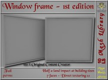 Window frame 1 SL ad_002