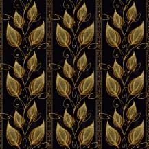 Golden flowers I - Tapestry s