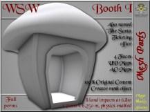 WSW Booth I - 8 LI - FULL PERMS Mesh