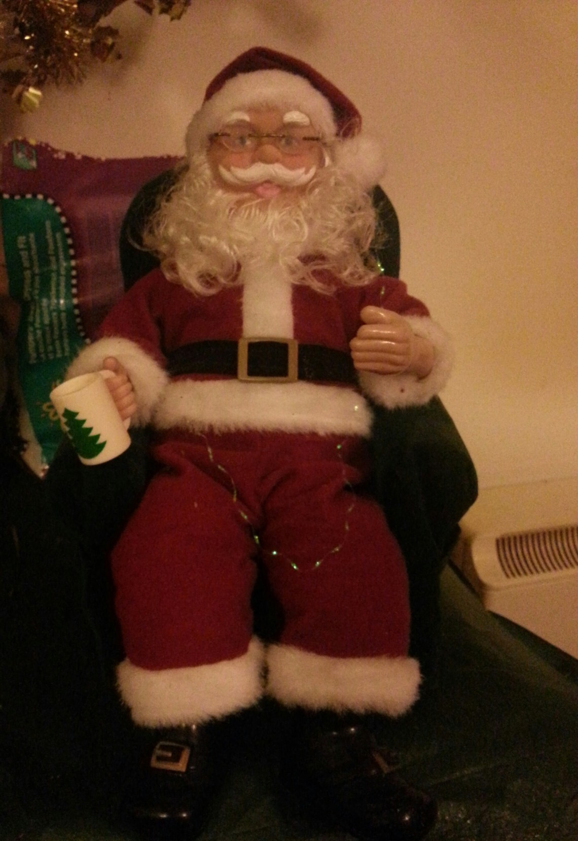 A disappointing visit to see Santa at the Celtic Manor hotel, Newport