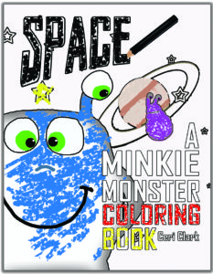 goodreads cover minkie space coloring book