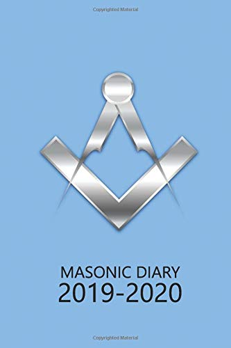 Masonic Diary 2019-2020: The Light Blue Freemason Diary for 2019-2020, Week to View (September to August) Planner (4×6 inch) (Clark Masonic Diaries)