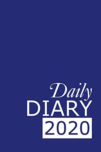 Daily Diary 2020: Blue 365 Day Tabbed Journal January – December (Clark Diaries & Journals)