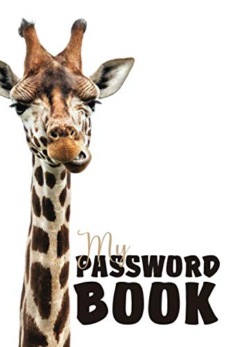My Password Book: Password Book With Tabs to Protect Your Usernames, Passwords and Other Internet Login Information For Kids and Teenagers | 6 x 9 inches (Quill Password Books)