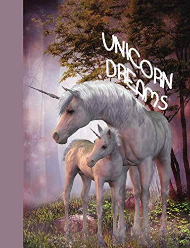 Unicorn Dreams: A Composition Notebook College Ruled Lined Pages Journal (7.44 x 9.69) (Composition Notebooks)