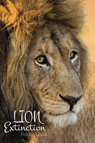 Lion Extinction: Disguised Password Book With Tabs to Protect Your Usernames, Passwords and Other Internet Login Information | 6 x 9 inches (Quill Password Books)