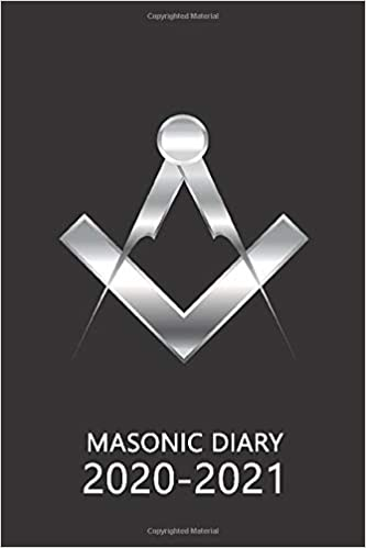 Masonic Diary 2020-2021: The 16 Month Black Freemason Diary for 2020-2021, Week to View (September 2020 to December 2021) Planner (4×6 inch) (Freemason Diaries 2020-2021)