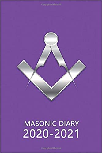 Masonic Diary 2020-2021: The 16 Month Purple Freemason Diary for 2020-2021, Week to View (September 2020 to December 2021) Planner (4×6 inch) (Freemason Diaries 2020-2021)