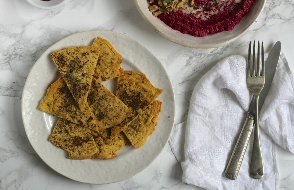 Gram Flour Tortilla Chips | Natural Kitchen Adventures , gluten free, vegan, chick pea flour