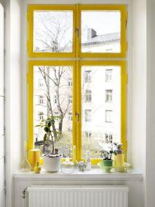 Décoration jaune 10