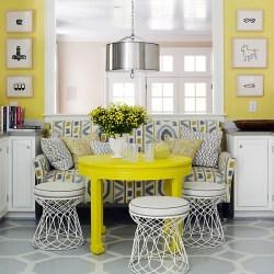 Décoration jaune 5