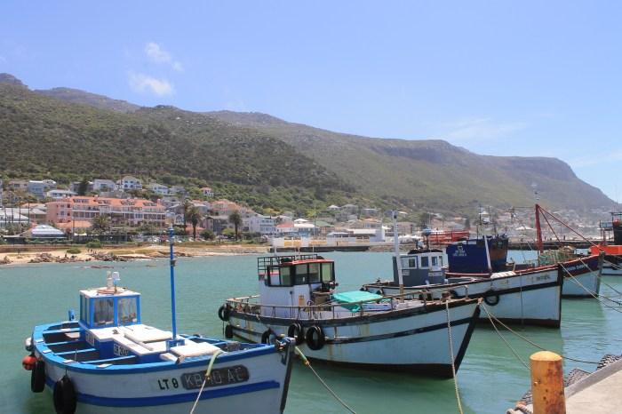 Le village de pêcheur de Kalk Bay