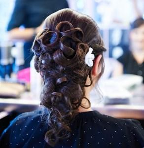 La coiffure de la mariée 2