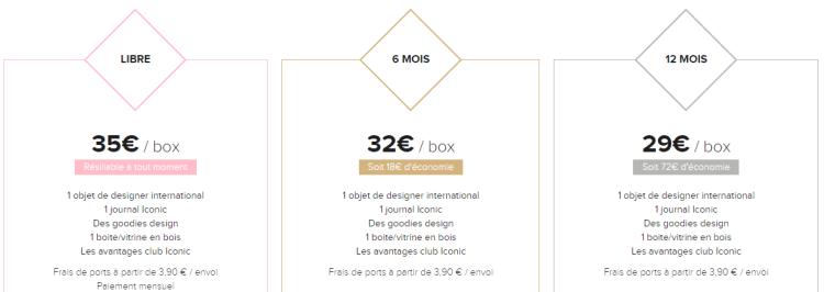 prix designerbox