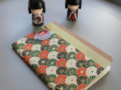Carnet de notes ou de voyage à fleurs Tokyo