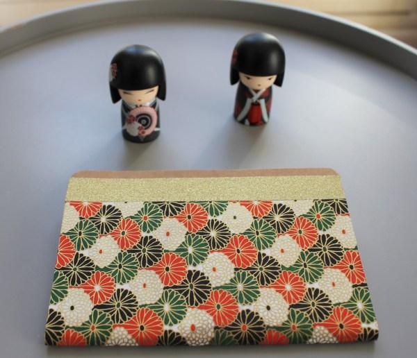Carnet de notes ou de voyage fleurs rosaces Tokyo