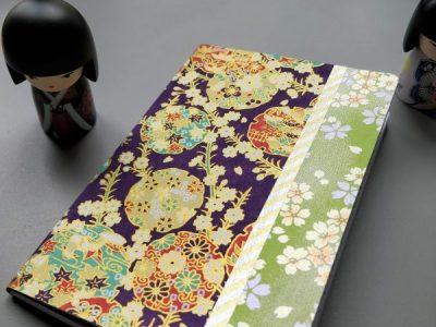 Carnet de notes ou de voyage violet
