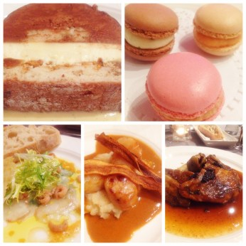 5 courses dinner