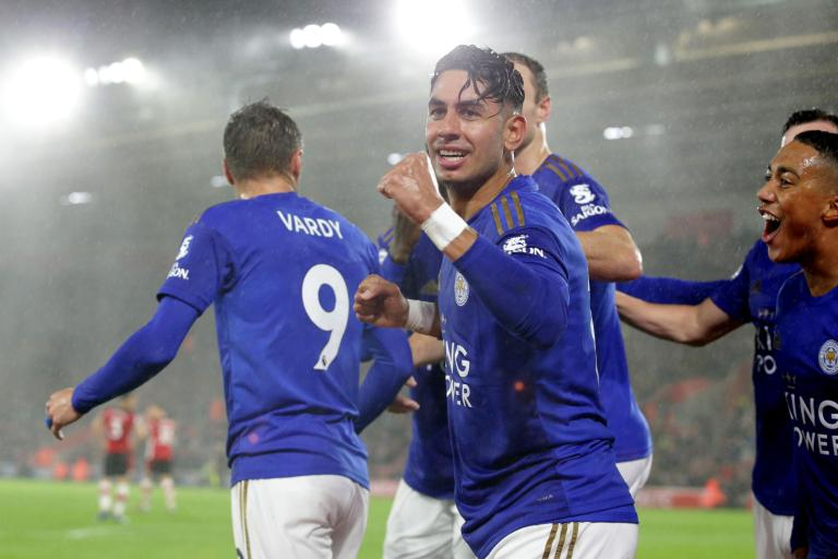 Leicester Bantai Southampton 9 Gol