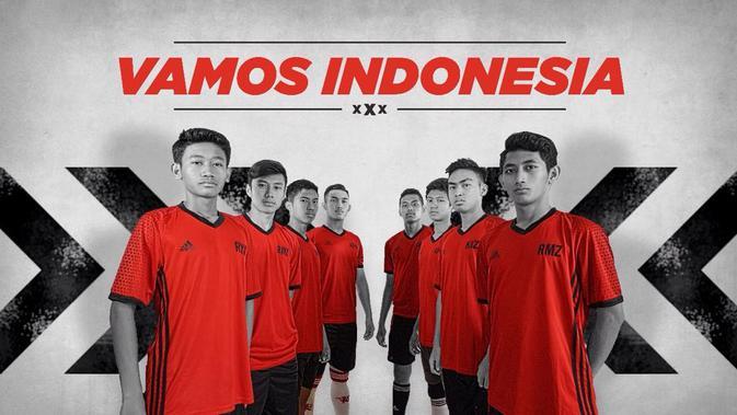 Bangga !!! Pemain  Vamos Indonesia Mencetak Quattrick di Spanyol
