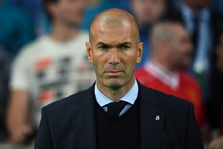 Zinedine Zidane Siapkan 5 Nama Pemain untuk Dibeli Real Madrid pada Bursa Transfer Januari