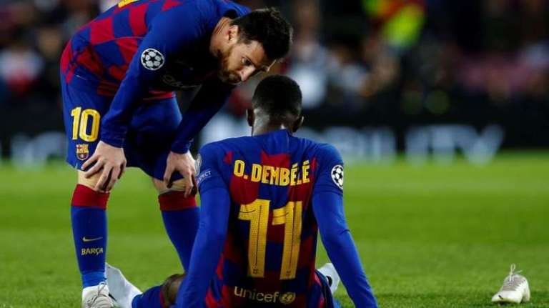 Apa yang  Mengganggu Ousmane Dembele?
