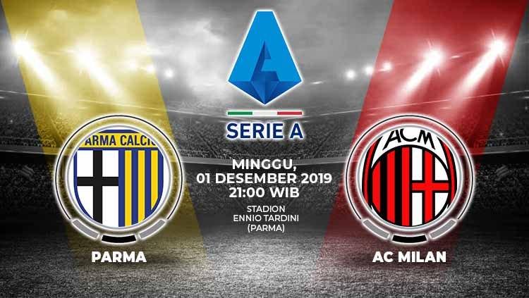 Prediksi Parma vs AC Milan 1 Desember 2019