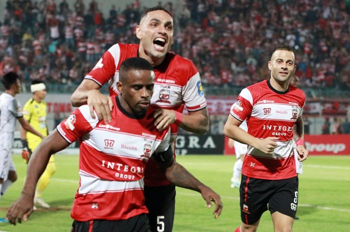 Tekad Madura United untuk Bangkit pada 4 Laga Sisa Liga 1 2019