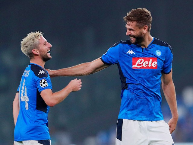 Prediksi Skor Sassuolo vs Napoli 23 Desember 2019