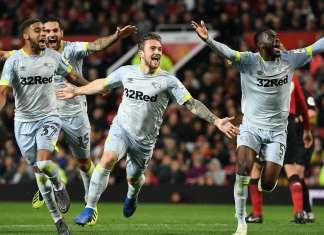 Derby County vs Man United Piala FA