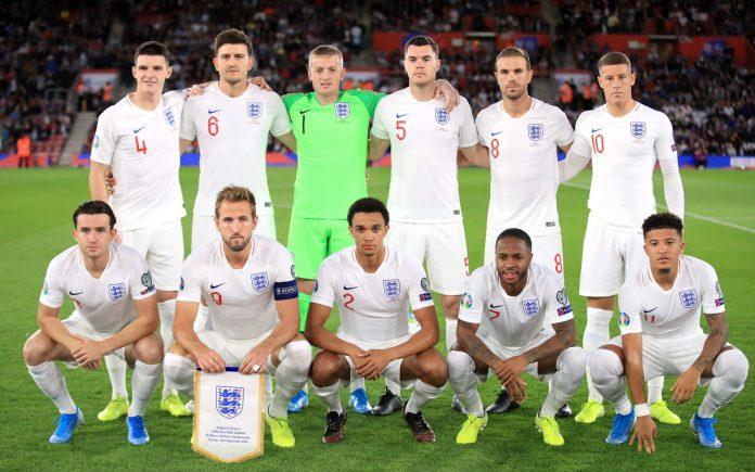 Prediksi Susunan Pemain Timnas Inggris pada EURO 2020