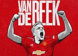 Donny van de Beek akan Mengenakan Nomor Punggung 34 di Manchester United