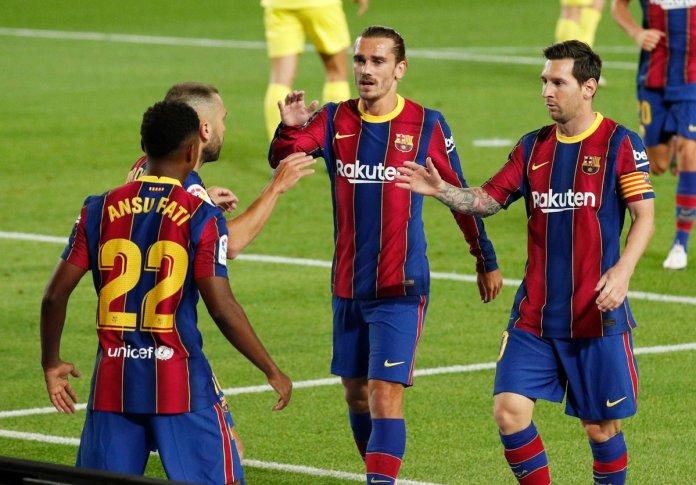 Ansu Fati Cetak Brace Bagi Barcelona di Laga Perdana La Liga 2020/21