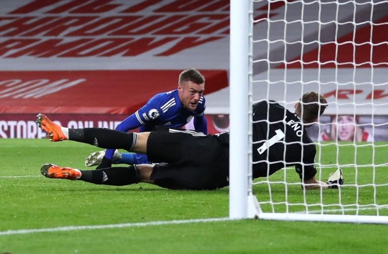 Hasil Arsenal vs Leicester City (0-1): Vardy Beri Teror Bagi The Gunners